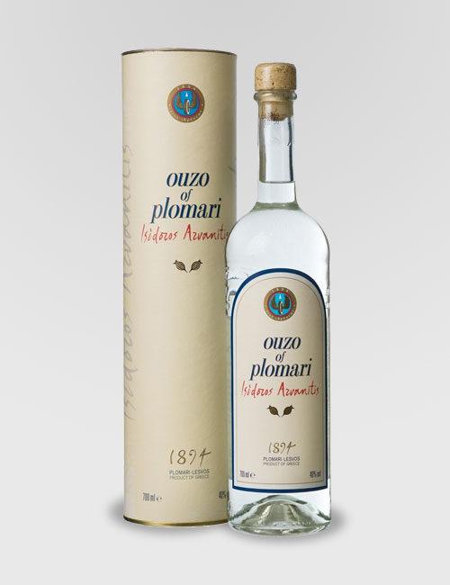 """Спиртной напиток """"Узо Пломари, Исидорос Арванитис"""" 0,7л в п/у"""