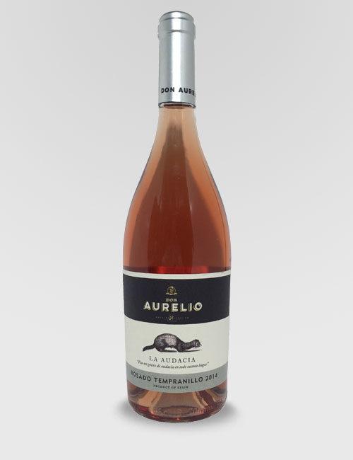 "Вино ""ДОН АУРЕЛИО РОСАДО ТЕМПРАНИЛЬО "" розовое сухое 0,75л."