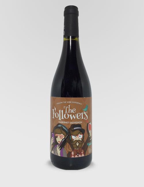 """Вино """"Фоловерс Каберне Совиньон"""" красное сухое 0,75л."""