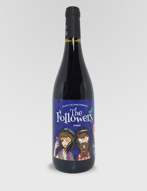 "Вино ""Фоловерс Сира"" красное сухое 0,75л."