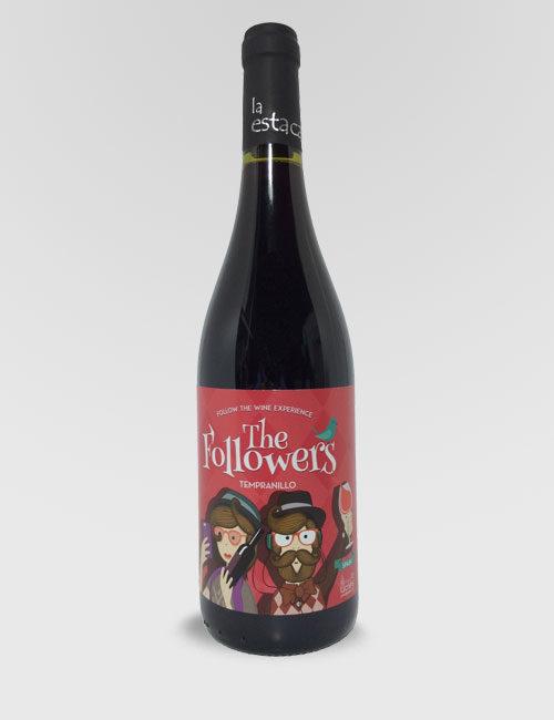 "Вино ""Фоловерс Темпранильо"" красное сухое 0,75л."