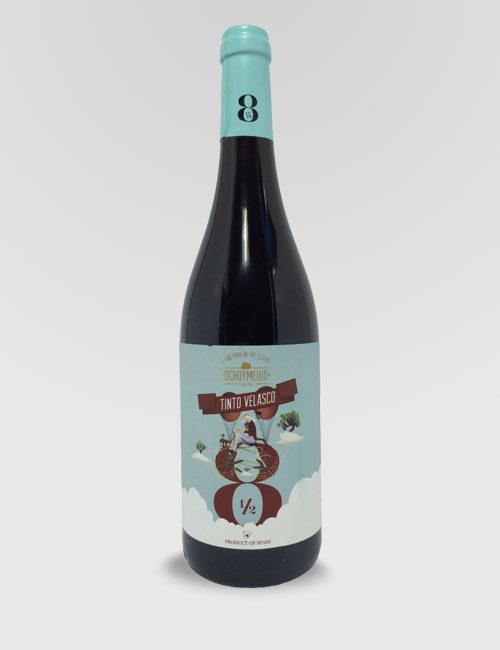 """Вино """"Очьо и Медио Тинто Веласко"""" красное сухое 0,75л."""