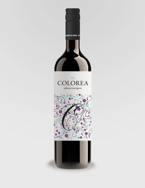 """Вино """"Колореа Каберне-Совиньон"""" красное сухое 0,75л."""