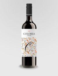 "Вино ""Колореа Темпранильо"" красное сухое 0,75л."
