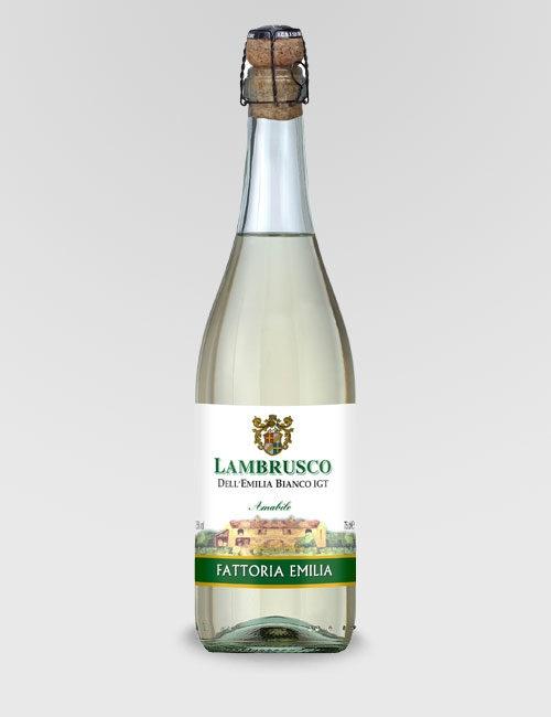 "Вино игристое ""Ламбруско Делл Эмилиа "" полусладкое 0,75л."