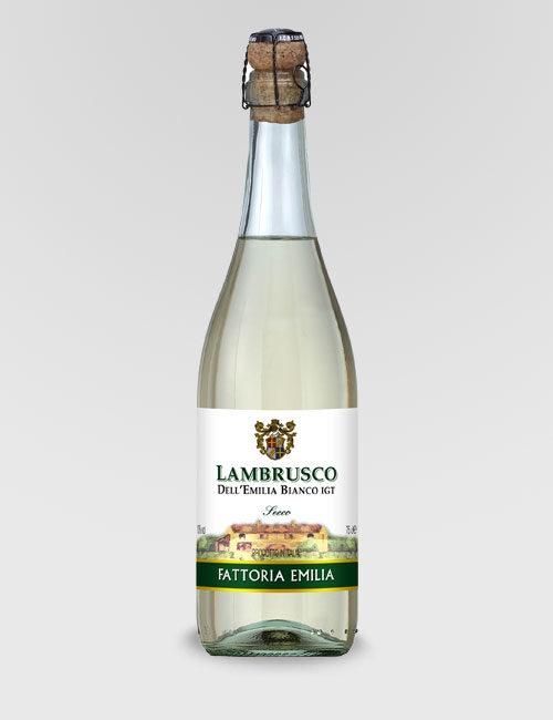 "Вино игристое ""Ламбруско Делл Эмилиа""белое сухое 0,75л."