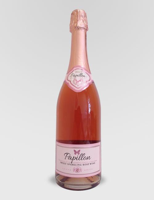 """Вино игристое """"Папилон Ван Ду Розе"""" розовое сладкое 0,75 л"""