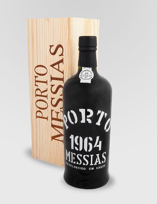 """Вино ликерное (Портвейн) """"Порто Мессиаш"""" урожай 1964г. в дер. упаковке 0,75л."""