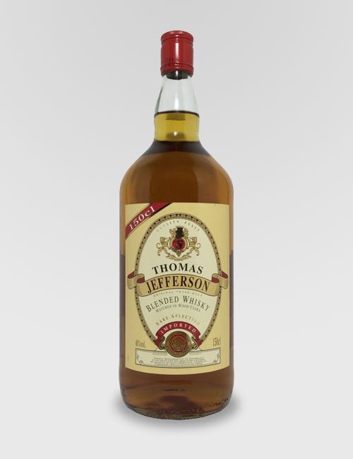 "Виски купажированный Американский ""Томас Джефферсон"" 1.5л."