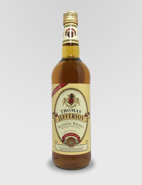 "Виски купажированный Американский ""Томас Джефферсон"" 1л."