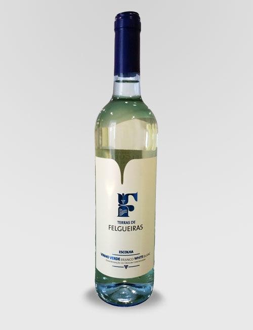 """Вино """"Тераш ди Фелгейраш"""" белое полусухое 0,75л."""