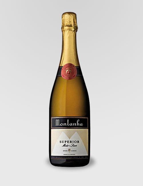 """Вино игристое защищенного, регион Беррада """"Монтаньа Супериор"""" белое полусухое 0,75л."""