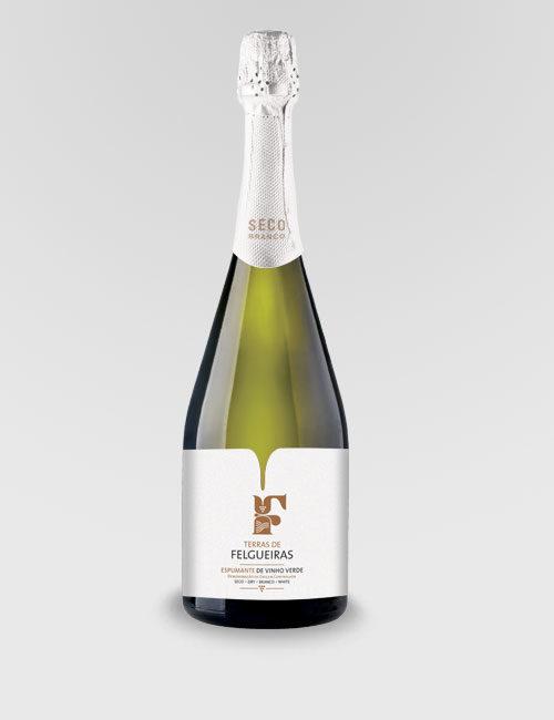 """Игристое вино """"Тераш ди Фелгейраш"""" белое сухое 0,75л"""