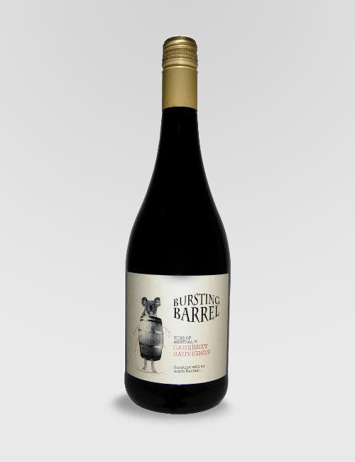 """Вино """"Лопнувшая бочка"""" Каберне Совиньон красное полусухое 0,75л."""