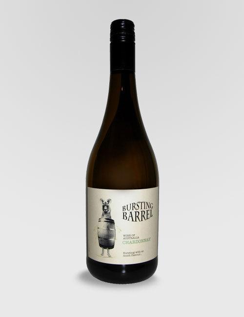 """Вино """"Лопнувшая бочка"""" Шардоне белое сухое 0,75л."""