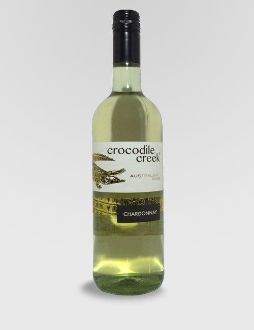 "Вино ""Крокодайл Крик"" Шардоне белое полусухое 0,75л."