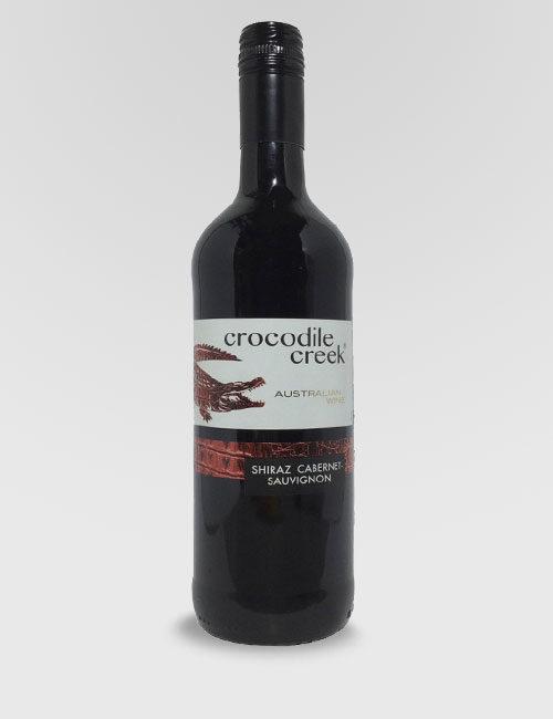 "Вино ""Крокодайл Крик"" Шираз красное полусухое 0,75л."