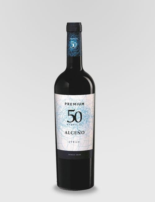 """Вино красное сухое """"Алсеньо Премиум 50 Сира"""""""