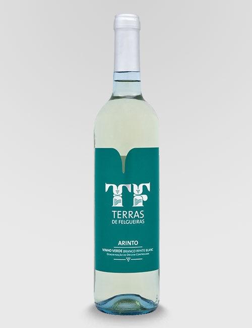 """Вино защищенного наименования """"Тераш ди Фелгейраш Аринту"""" белое полусухое"""