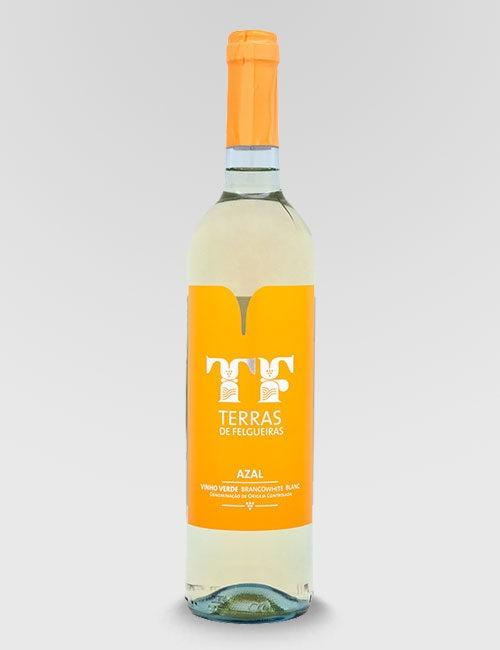 """Вино защищенного наименования """"Тераш ди Фелгейраш Азал"""" белое полусухое"""