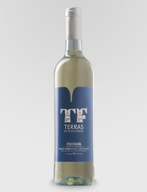 """Вино защищенного наименования """"Тераш ди Фелгейраш"""" белое полусухое"""